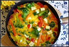 Ama in bucatarie: Frittata cu broccoli si telemea de oaie Frittata, Baby Food Recipes, Guacamole, Broccoli, Keto, Ale, Cooking, Breakfast, Ethnic Recipes