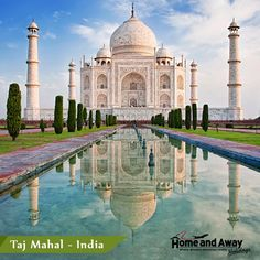 #TajMahal at Agra, #India - one of the wonders of the world surely deserves your visit once & more.