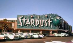 Old Stardust Casino Photograph, Neon Sign - Vintage Las Vegas, NV, 1960 Vintage Neon Signs, Retro Vintage, Retro Art, Old Vegas, Casino Hotel, Googie, Retro Aesthetic, Nevada, Signage