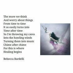 Chime After Chime #poeticwings #maypoeticwings