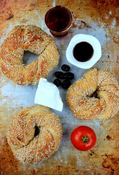 Simit - Turkish Sesame Bread
