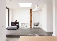 Scenario Architecture has completed an extension to an east London residence, featuring blackened wood cladding that references Japanese architecture