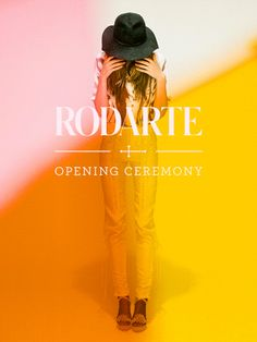 Rodarte for Opening Ceremony poster http://www.boohoo.com/