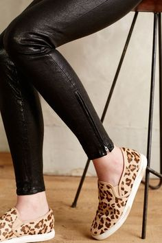 J Brand Leather Skinny Jeans - anthropologie.com #anthrofave