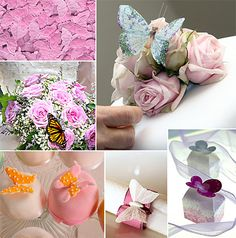 A Butterfly Wedding Board #MayWeddingPhotoChallenge