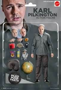 Karl Pilkington Action Figure