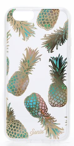 Sonix Liana iPhone 6 Case. Obsessed with pineapples