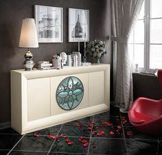 Aparadores de Diseño © Modernos y Clásicos【 100% CALIDAD 】 Modern Furniture Online, Home Living Room, Room Decor, Cabinet, Storage, Simple, Rest Room, Collages, Nest
