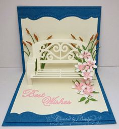 Baukje's Cards and Crafts: Garden Bench