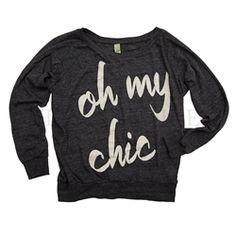 Ily Couture Boyfriend Sweater---want!