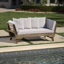 Looking for Ellanti Patio Daybed Cushions Union Rustic ? Check out our picks for the Ellanti Patio Daybed Cushions Union Rustic from the popular stores - all in one. Outdoor Daybed, Patio Loveseat, Patio Chairs, Outdoor Furniture, Outdoor Sofas, Rustic Furniture, Antique Furniture, Furniture Ideas, White Furniture