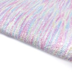 Pastel Seaweed Chunky Glitter Fabric Sheets Glitter Fabric, Craft Supplies, Pastel, Notes, Colours, Seaweed, A4, Prints, Projects