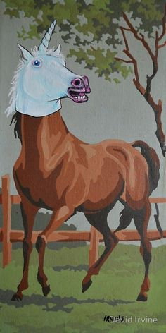 Undercover Horse Goes Undercover