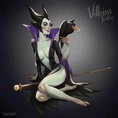 Maleficent by Andrew Tarusov