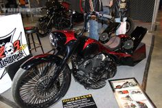 2008 Road King build from Two Eight Customs, owned by Ike Coursolle at the 2014 Donnie Smith Bike & Car Show.