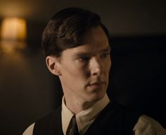 """""""Benedict Cumberbatch, Small Island"""" - *sigh* Those cheekbones. <3  Also, that mole on his neck...  There is a list of things I would like to do to it. ;)"""