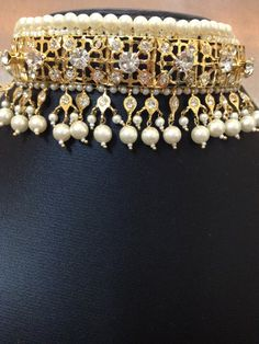 Hyderabadi Indian choker set  Wedding Jewelry  Indian by MahrukhD