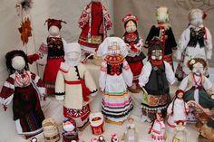 UKRAINIAN TRADITIONAL COSTUME FOLK DOLLS