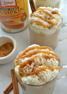 Ways to eat pumpkin all the time. Caramel Pumpkin Spice Latte