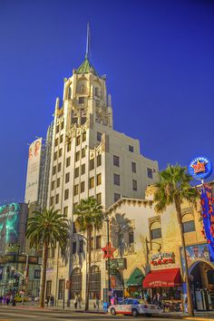 Hollywood Boulevard, Los Angeles, California.  Go to www.YourTravelVideos.com or just click on photo for home videos and much more on sites like this.