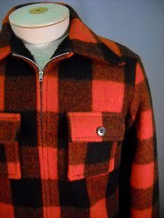 Vintage Buffalo Plaid Jacket s by Rustology on Etsy, \39.00