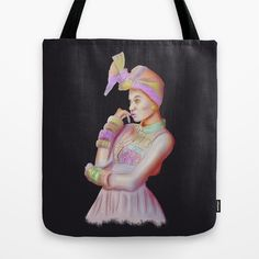 Afro Beauty Tote Bag by Daniac Design - $22.00