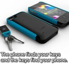 Never Loose Your Keys or Phone Again: Your iPhone finds your stuff, your stuff finds your iPhone. Want to find what matters? Or never lose it in the first place? There's an app for that.® That drives a smart case. That finds tiny tags you attach to the stuff you care about. Now even ...Read More @ http://greateststuffonearth.com/never-loose-your-keys-or-phone-again/