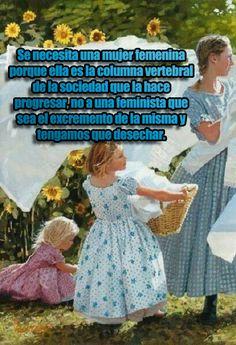 Se necesita quien sea la columna vertebral, no el excremento ( #feminismo ) que debamos desechar.