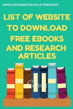 Websites To Read Books, Free Books To Read, Book Sites, Free Ebooks Online, Free Education, Psychology Books, Inspirational Books, Research Paper, Educational Websites