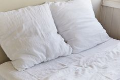 100% Linen Euro Pillowslip Set in All Colours | IN BED Store