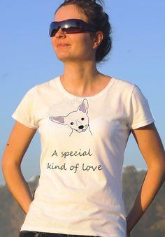T-shirt ręcznie malowany z wizerunkiem psa rasy Pinczer z napisem jaki tylko chcesz.