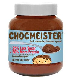 If your kids are Nutella fans, they'll be all over this chocolate hazelnut spread that is shipping out later this spring. It has the same flavor and creaminess as its well-known counterpart, only with less sugar and more protein. Available in dark and milk chocolate.
