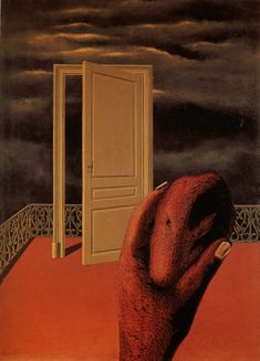 Rene Magritte - Scars of Memory, 1927