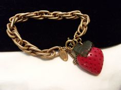 A personal favorite from my Etsy shop https://www.etsy.com/listing/200368899/miriam-haskell-charm-bracelet-vintage