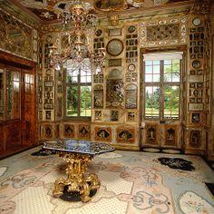 Schloss Favorite (Rastatt) interior , Germany