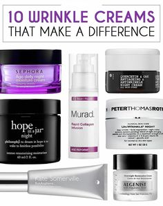 No matter how perfect your skincare routine might be, a good wrinkle cream must be in your arsenal of beauty products. Try one of these awesome creams and kick those wrinkles to the curb!