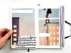Jules + Tea | Introspection | Get Messy Art Journal