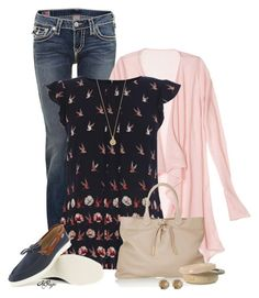 """""""Bird Top Contest"""" by kginger ❤ liked on Polyvore featuring мода, True Religion, Calypso St. Barth, Oasis, Burberry, See by Chloé, LeiVanKash и Bing Bang"""