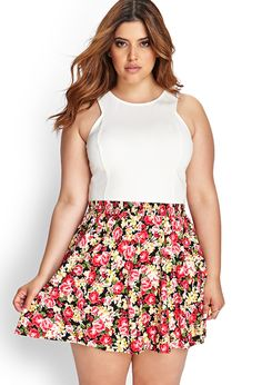 Sweet skater skirt. I might pair this with a crop top and a cute low fi hat. Like a saucy beret.