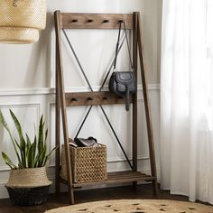 Complement your hallway with our best-selling hall tree. Designed exclusively for Furniture123 in striking styles and materials. We also offer finance options. Browse our full range of hallway furniture at Furniture123. #hallwayideas #hallwaydecorating #narrowhallwayideas #entrywayideas #coatstand #coatrackwall