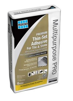 SpectraSet or Multipurpose PRO multipurpose thin-set Mortar is a superior polymer modified bagged cementitious thin-set powder to be mixed only with water to install ceramic tile, porcelain and stone using the thin-set method of installation.