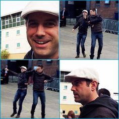 Great fun shots shared by Sara Kutschera with Séb and David goofing about in their race to greet the fans thanks for sharing #sebsoloalbum #teamseb #sebdivo #sifcofficial #ildivofansforcharity #sebastien #izambard #sebastienizambard #ildivo #ildivoofficial #sebontour #singer #band #musician #music #concert #composer #producer #artist #french #handsome #france #instamusic #amazingmusic #amazingvoice #greatvoice #tenor #teamizambard