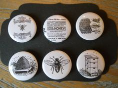 The Bumble Bee-Decorative Magnets in Hinged Emblished Tin. $10.50, via Etsy.