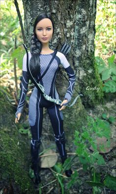 Katniss Everdeen doll, photo by Gudy