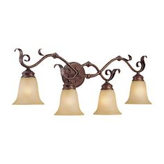 Shop for Millennium Lighting 7054 Roanoke Bathroom Vanity Light - burled bronze/silver. Get free delivery On EVERYTHING* Overstock - Your Online Kitchen & Bath Lighting Store! Get in rewards with Club O! Bronze Bathroom, Bathroom Vanity Lighting, Bathroom Fixtures, Light Bathroom, Bath Light, Bathroom Ideas, Bath Ideas, Master Bathroom, Bathrooms