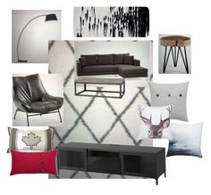 """""""Bachelor Pad"""" by jennifer-266 on Polyvore featuring interior, interiors, interior design, home, home decor and interior decorating"""