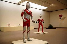 """Ultraman Art! Times and creation — Ultraman & Ultraseven"" under way at Ibaraki art museum; The Nov. 3-Jan. 15 exhibition entitled ""Ultraman Art! Times and creation — Ultraman & Ultraseven,"" at the Museum of Modern Art, Ibaraki(茨城県近代美術館), features clothes, full-body suits and miniature models of architectural structures used in shooting the TV series that began airing in the 1960s."
