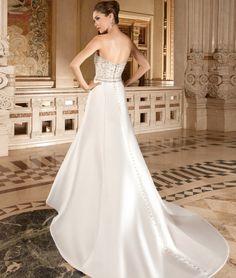 c74a2708ba73 Demetrios 2015 Strapless Wedding Dress Style 3215 | www.DemetriosBride.com  2015 Wedding Dresses