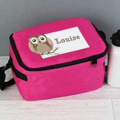 Personalised Lunch Bag - Woodland Owl
