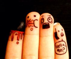 Cannible fingers